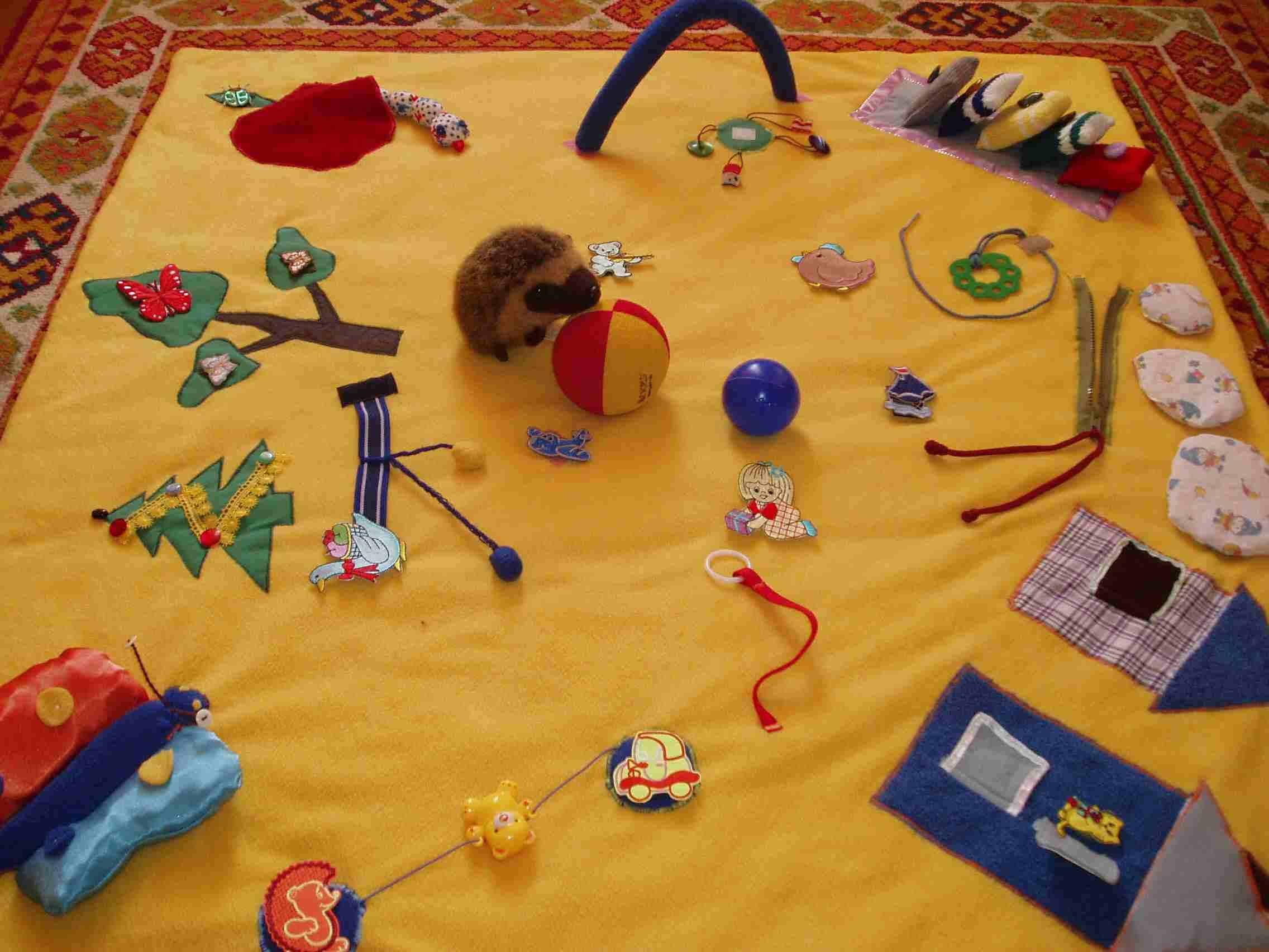 Развивающие игрушки своими руками от 0 до года